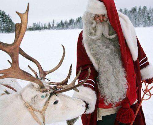 Подорожуй до Санта Клауса на Новий  Рік!