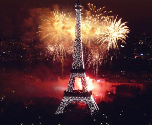 Новий Рік у Парижі та Амстердамі