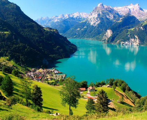 Швейцарська казка + Австрія