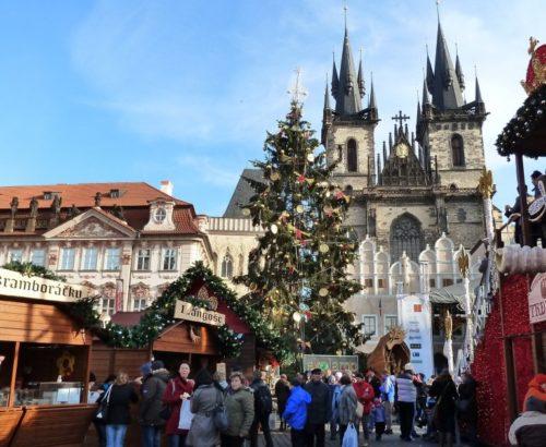 Прага на католицьке Різдво
