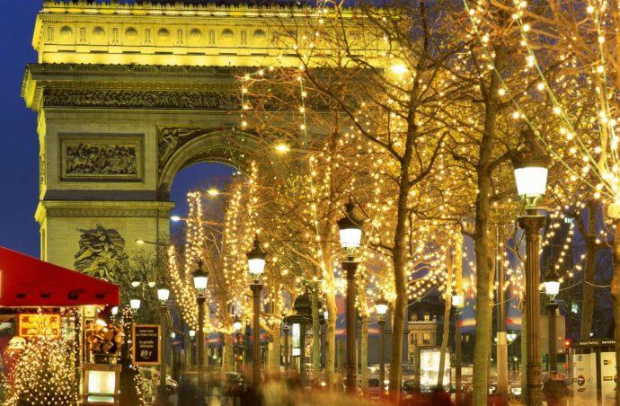 Новорічна казка в Парижі!!!