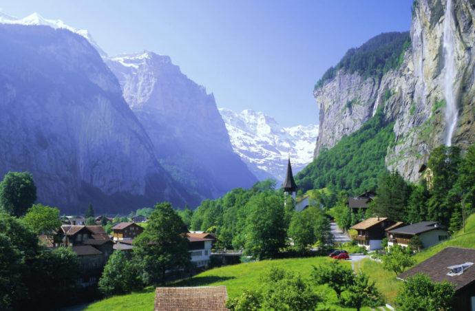 Швейцарія та Північна Італія!